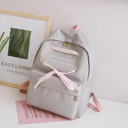 Bags For Girls NZ - Student School Bags for Teenage Girls School Backpack Women 2019 Spring Summer Korean College Canvas SchoolBag Satchel Bookbag