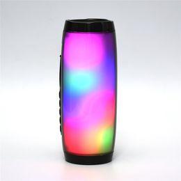 $enCountryForm.capitalKeyWord Australia - TG157 LED Subwoofer 10W Stereo Bass Column Wireless Bluetooth Speaker Soda Portable Sound Boom Box Waterproof Pc Fm Raido USB Speaker