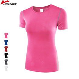 Professional Fitness T Shirts Australia - Professional T-Shirts For Women Fitness Running Sports Short-sleeved Quick Drying Tees Jogging Exercises Yoga Tank Tops Jerseys #20598