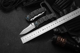 $enCountryForm.capitalKeyWord Australia - High-end carbon fiber handle Advanced folding knife Bench BM made 484S-1 M390 blade Complete packing 1pc