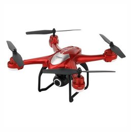 gps follow me drone Australia - SJRC S30W WIFI FPV Drone with 720P HD Camera Double GPS Follow Me Mode RTF - Red