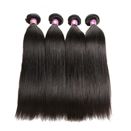 $enCountryForm.capitalKeyWord Australia - 8 - 26 inch Virgin Human hair weaves 1 piece long Brazilian straight Hair Wigs Free shipping