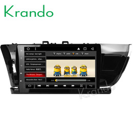 "$enCountryForm.capitalKeyWord Australia - Krando Android 8.1 10.1"" IPS Full touch Big Screen car multimedia system for TOYOTA COROLLA 2014- 2016 radio player gps BT wifi car dvd"
