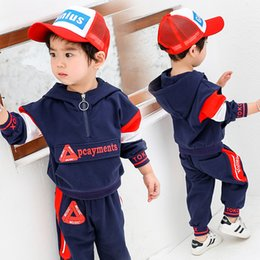 18 Month Old Clothes Australia - Children's clothing spring 2019 new baby suit 1-2 years old 3 boys handsome 4 sets of girls 5 foreign gas out of clothing tide