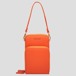 $enCountryForm.capitalKeyWord UK - 1 Pcs Mini PU Leather Crossbody Bag Cellphone Shoulder Bag Wallet Purse with Removable Strap Popular