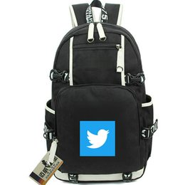 $enCountryForm.capitalKeyWord NZ - Twitter day pack Social network daypack Internet schoolbag Company packsack Computer rucksack Sport school bag Out door backpack