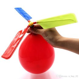 $enCountryForm.capitalKeyWord Australia - flying Balloon Helicopter DIY balloon airplane Toy children Toy self-combined Balloon Helicopter Scenic spot hot selling gifts