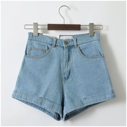 lightweight jeans for summer Canada - Shorts For Women Ladies Shorts Style Euro Women Denim Vintage High Waist Cuffed Jeans Shorts Street Wear Sexy Summer Spring Autumn