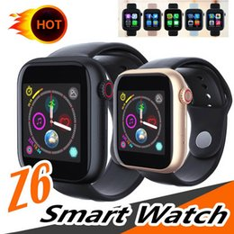 $enCountryForm.capitalKeyWord Australia - Smart watches Z6 for apple iphone Smart Watch Bluetooth 3.0 watches with camera Supports SIM TF Card for android smart phone PK DZ09 GT08