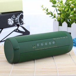 t2 waterproof speaker NZ - Original T2 Bluetooth Speaker Waterproof IP67 Portable Outdoor Wireless Mini Column Box Speaker Support TF card FM Stereo Hi-Fi Boxes
