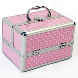 $enCountryForm.capitalKeyWord Australia - Makeup Train Professional With Adjustable Dividers 4 Trays And Lock Toolbox Box Cosmetic Case Storage Bags J190713