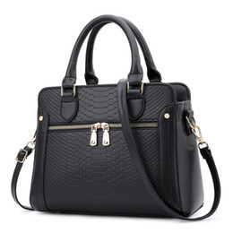 Crocodile Hand Bags Australia - good quality Women Bag Handbags Women Brands Crocodile Leather Bags For Women 2019 Handbags Hand Bag Designer Bolsa