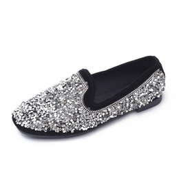 8ad883a822 Shop Bling Crystal Flat Shoes UK   Bling Crystal Flat Shoes free ...
