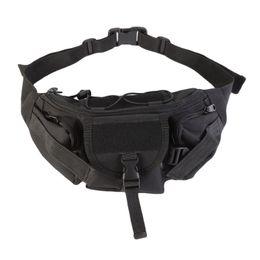 TacTical waisT pack pouch online shopping - Outdoor Tactical Waist Pack Streetwear men bag Functional Chest Bag Pack Tactical Waist Bags Men Camping Hiking Pouch HandBag
