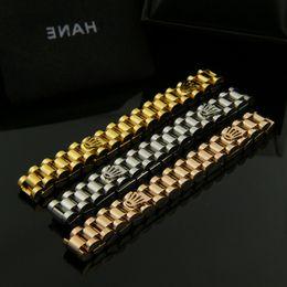 $enCountryForm.capitalKeyWord Australia - New arrival 316L Titanium steel bracelet with crown design in 17.5cm-19.5cm length adjustable size for women and man jewelry K3523