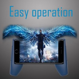 Gamepad for iphone online shopping - Cheapest Phone Game Mount Bracket Gamepad Hand Grip Clip Stand For iphone Samsung Plus Gaming Handle Phone Holder with retail box