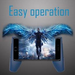 Mais barato do telefone jogo de suporte de montagem gamepad aperto de mão clipe suporte para iphone samsung além de suporte do telefone alça de telefone com caixa de varejo