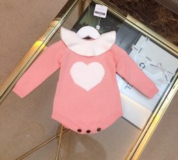 jumpsuit babies Australia - 2019 New Styles Baby Kids long Sleeve High Quality Cotton Romper 2 Colors jumpsuit 101605