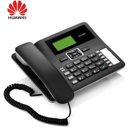 Huawei F617 3G WCDMA900 2100Mhz GSM Desktop Bluetooth Telephone GSM Fixed Cellular Terminal GSM Corded Desktop Office Phone on Sale
