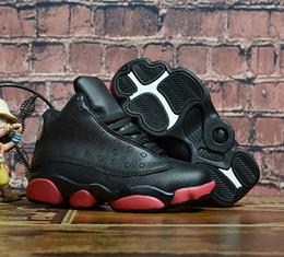 $enCountryForm.capitalKeyWord Australia - Cheap New 13 Gym Red Bred DMP Kids Basketball Shoes for Boys Girls Sneakers He Got Game Children Babys 13s Running Shoe Size 28-35