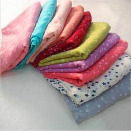 $enCountryForm.capitalKeyWord Australia - Wholesale-180*70cm 2016 spring NEW lady high quality prints plus extra large scarf cotton sunscreen scarves shawls star dot print scarf