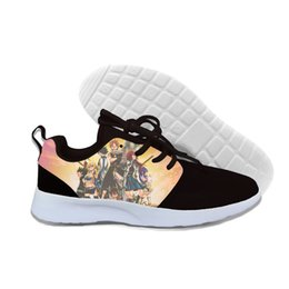 $enCountryForm.capitalKeyWord Australia - Hot Fashion Fairy Tail 3d Casual Shoes For Men women High Quality Harajuku 3d Printing Fairy Tail