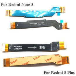 Note Motherboard NZ - Mainboard Flex Cable For Xiaomi Redmi Note 5 Plus Main Board Motherboard Connect LCD Flex Cable