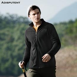 $enCountryForm.capitalKeyWord Australia - Adisputent Fall and Winter Style Men's Full-Zip Polar Fleece Warm Tech Jacket Autumn and winter fleece long-sleeved shirt coat