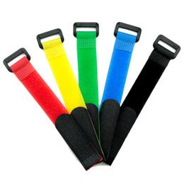 $enCountryForm.capitalKeyWord Australia - 10pcs lot Reusable Fishing Rod Tie Holder Strap Suspenders Hook Loop Cable Cord Belt Fishing Tackle Box Accessories