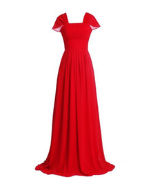 $enCountryForm.capitalKeyWord UK - New Simple Cheap White Long Prom Dresses With Chiffon Bead Plus Size Women Formal Evening Homecoming Cocktail Celebrity Party Gowns QC1462