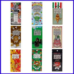 $enCountryForm.capitalKeyWord Australia - 30 Flavor Stickers Package bag for Exotic Mario Carts A1003 Cartridges for thick oil Mini Zip-Lock vape Cartridge bags OEM Customized