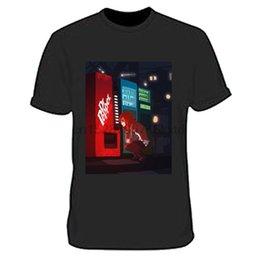 Toptan satış 2019 Sıcak Satış% 100 pamuk Dr Pepper Steins Gate Tişört Tee Siyah Yeni Erkekler Tişört Tee Gömlek