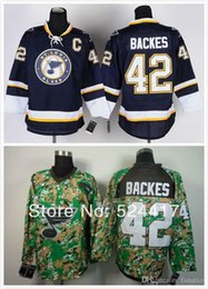 $enCountryForm.capitalKeyWord NZ - 2016 7-9 Days Free Shipp. Men's St. Louis Blues #42 David Backes Dark Blue Third green Lacing Neck Vintage ice hockey jersey shirt