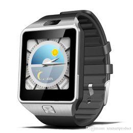 Bluetooth Smart Watch Sim Australia - QW09 Android Smart Watch 3G WIFI 512MB 4GB Bluetooth 4.0 Real-Pedometer SIM Card Call Anti-lost Smartwatch PK DZ09 GT08