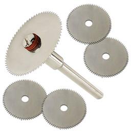 $enCountryForm.capitalKeyWord Australia - 5 x 22 MM Wood Cutting Disc Dremel Rotary Tool Blade For Dremel Cutting Tools Woodworking Tool Cut Off Accessories
