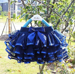 ballerina tutu skirts NZ - Girls tutu skirts baby ballerina skirt childrens chiffon fluffy pettiskirts kids Hallowmas casual candy color skirt GA686