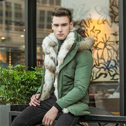 $enCountryForm.capitalKeyWord Australia - Male Fashion Rabbit's hair down Jacket Casual Thicken Parkas coat men PLus Size Winter Men and women high quality Down Jackets