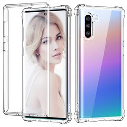 TransparenT iphone back online shopping - For Samsung Note Case Clear Hybrid In Soft TPU Hard PC Back Cover Phone Case For Samsung Note Plus