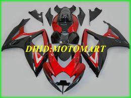 Automobiles & Motorcycles Injection Mold Fairing Kit For Suzuki Gsxr600 750 06 07 Gsxr600 Gsxr750 Gsx-r600 750 K6 2006 2007 Silver Blue Fairings Set Sb38