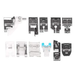 Wholesale Household Gadgets Australia - DIY Sewing Machine Kit Universal Presser Feet Household Small Gadgets Parts For Rother Janome