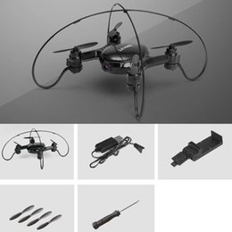Flying Camera Toy Australia - MT856 2.4G LED 4-axis Remote Control 3D Roll WiFi RC Quadcopter Hehicopter Mode Drone With Camera Flying Toy