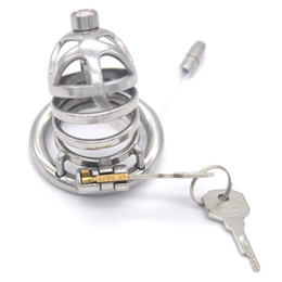 $enCountryForm.capitalKeyWord Australia - Small Style Male Chastity Belt Stainless Steel Adult Game Cock Cage Bondage Short Cage Chastity Device BDSM Sex Toys for Men G243D