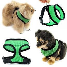 $enCountryForm.capitalKeyWord Australia - Pet Control Harness for Dog Puppy & Cat Soft Mesh Walk Collar Safety Strap Vest