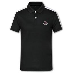$enCountryForm.capitalKeyWord Australia - 2019New Mens Designer Printed applique Polo Shirts Cotton long Sleeve Camisas Polos Round neck Male Polo Shirt men tee S-3XL