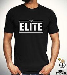 Pro Tees Australia - The Elite Bullet Club T-shirt Kenny Omega Japan Pro Wrestling Top BlaFashion Tee Mens