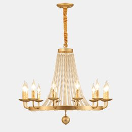 French iron chandeliers online shopping - Europe French luxury beautiful crystal chandelier for dinning room kitchen lamp lights crystal lighting chandeliers living room
