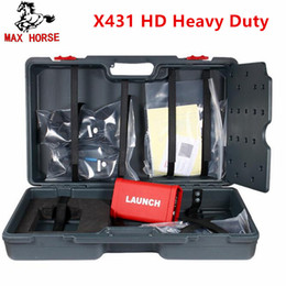 Hd Connectors Australia - 2018 LAUNCH X431 HD Heavy Duty special for 24V truck work with 10'' inch work with X431 V+, X-431 PRO3 X-431 PAD II DHL free