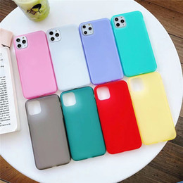 factory direct mobile phones wholesale UK - Liquid Milk Shell for Iphone 6 6S 11 Frosted Case Latex Mobile Phone Shell for Iphone XR XS Max phone case Factory Direct