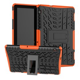 Discount china huawei tablet pc - Hybrid KickStand Impact Rugged Heavy Duty Defender TPU PC Shockproof Case For Huawei MediaPad T3 7.0 8.0 T5 10 M3 M5 Lit
