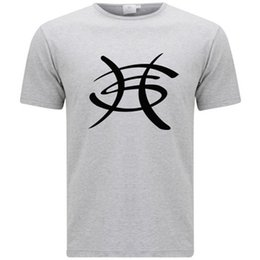 Logo Shirts For Men Australia - New Héroes Del Silencio Hard Rock Band Logo Men's Grey T-Shirt Size S-3Xl Tee Shirt For Men Rock Custom Short Sleeve Valentine's Big Size Co
